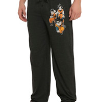 Dragon Ball Z Trio Guys Pajama Pants