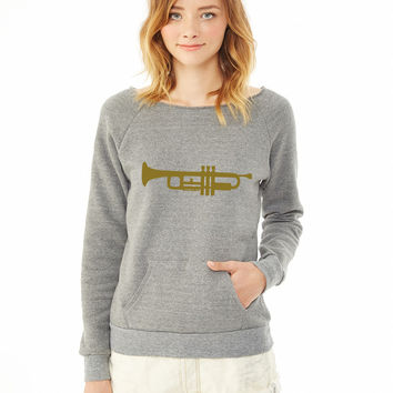Trumpet 1 ladies sweatshirt