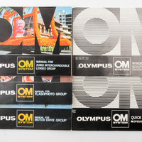Set of Olympus OM Manuals - Winder 2, Motor Drive, Lenses, Flash, Quick Auto 310 | eBay