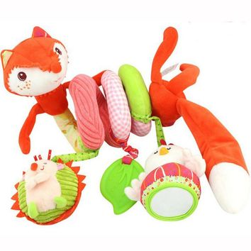 Baby Mobile Musical Multifunctional Crib Bed Hanging Bell Baby Toys For Tots Baby Educational Toys Baby Rattles For Kids