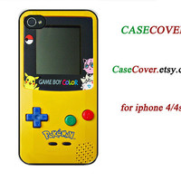 iPhone 4s Case game boy iPhone 5 case gameboy iPhone 4 Case, skin cover plastic personalized floral game boy iphone case