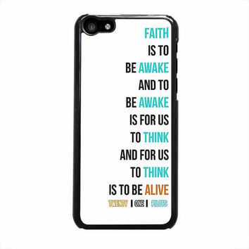 twenty on pilots car radio lyrics white cover iphone 5c 5 5s 4 4s 6 6s plus cases