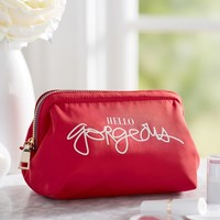 Hello Gorgeous Petit Framed Cosmetic Bag
