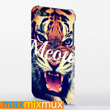 Meow iPhone 4/4S, 5/5S, 5C Series Full Wrap Case