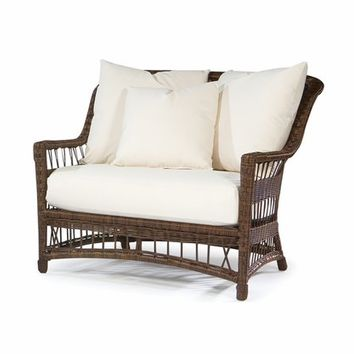Bar Harbor Outdoor Wicker Cuddle Chair