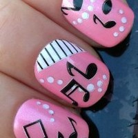 NAIL ART WRAPS WATER TRANSFERS/STICKERS DECALS SHEET MUSIC NOTES/PANIO KEYS #269. make sure your buying from the ORIGINAL at your fingertips nail art design