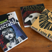 BROADWAY Coasters Theatre Shows Les Miserable Wicked Lion King Phantom of the Opera