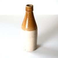 antique stoneware crock bottle by J. Macintyre  and Co. 1