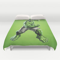 HULK Duvet Cover by Hands In The Sky