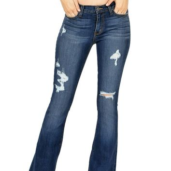 Wanderlust Bell Bottom Jeans