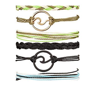 3PCS Boho Sea Wave Anklet Ankle Bracelet - Colors