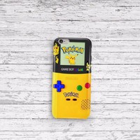Pokemon Gameboy Pikachu iPhone 5 5c 6 6plus and Samsung Galaxy S5 Case
