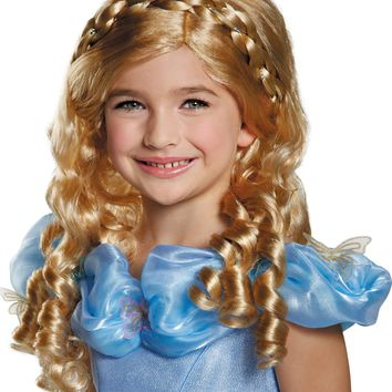 Cinderella Movie Adult Wig Girls Women's Costume