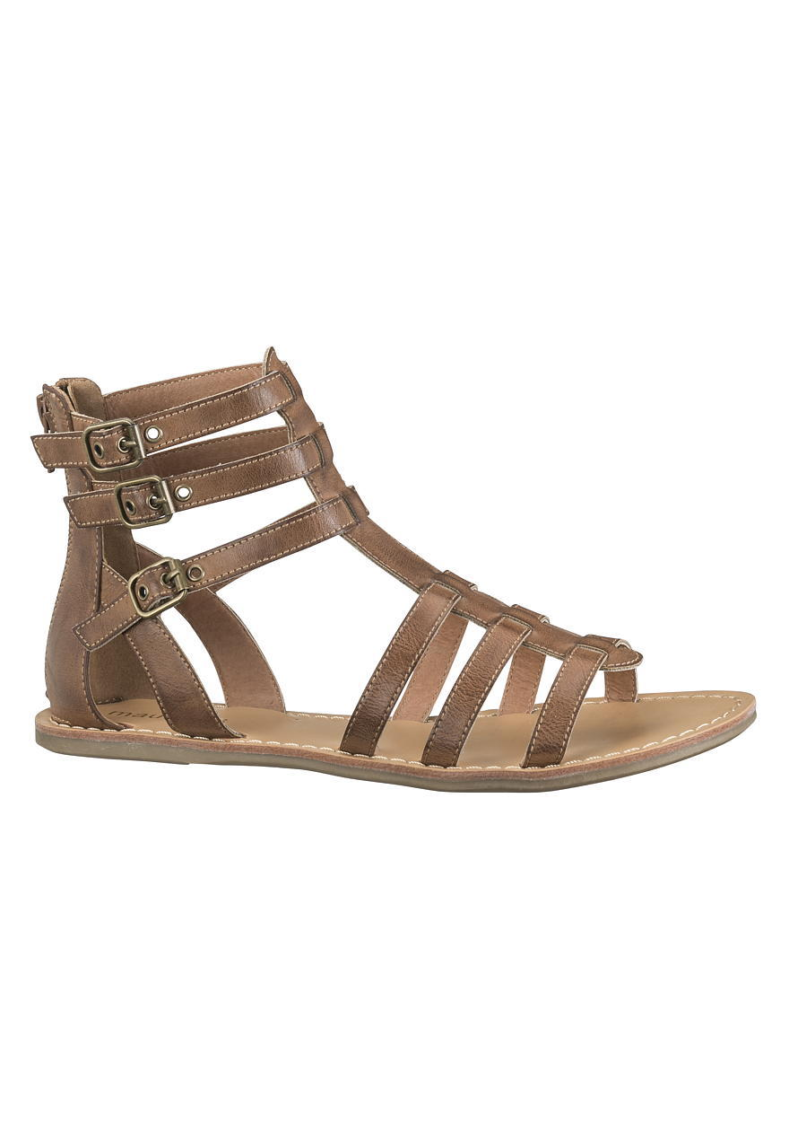 a3ebefaa30388f Darma 3 Buckle Gladiator Sandal - Brown from maurices