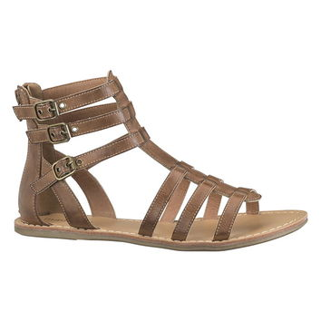 Darma 3 Buckle Gladiator Sandal - Brown
