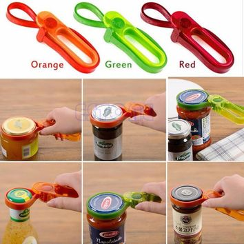 1 pc Container Bottle Lid Can Tin Cap Handy Travel Kitchen Plastic Jars Opener