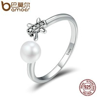 Authentic 925 Sterling Silver Pisces Fish Constellation Open Finger Rings for Women Luxury Sterling Silver Jewelry SCR184