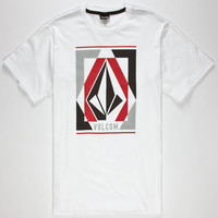Volcom Clarity Mens T-Shirt White  In Sizes