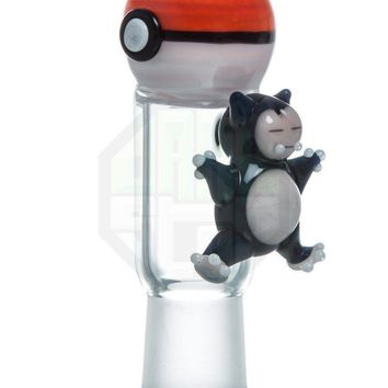 Empire Glassworks PokeBall/Snorlax Mouthpiece