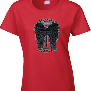 Crossbow Daryl Dixon Womens T Shirt