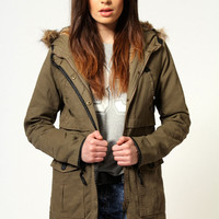 Callie Fur Lined Parka