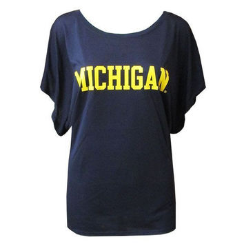 Michigan Flowy Dolman - Midnight