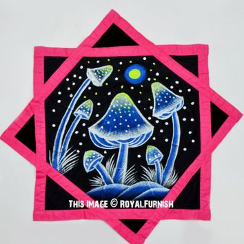 Pink  Black Dapo Star Cloth Finger Spinner Game on RoyalFurnish.com