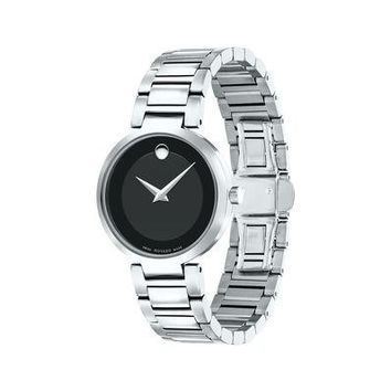 Authentic Movado Women's Modern Classic Stainless Steel Watch 0607101