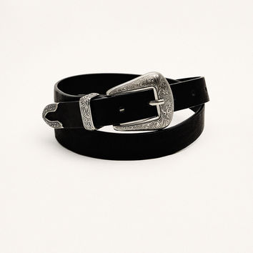 Cowboy belt - Belts - Accessories - Woman - PULL&BEAR United Kingdom