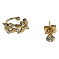 Women's Jules Smith 'Laurel' Ear Cuff & Stud Mismatched Earrings