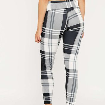 Reebok Plaid Yoga Leggings - Urban Outfitters