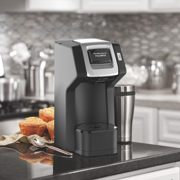 Hamilton Beach FlexBrew Single-Serve Coffee Maker | Model# 49974 Black Home Decor, Kitchen, & Other 1.0000