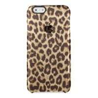 Leopard Print Uncommon Clearly™ Deflector iPhone 6 Case