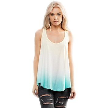 Yoga Clothing for You Womens Ombre Racerback Tank