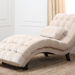 Bera Fabric Chaise