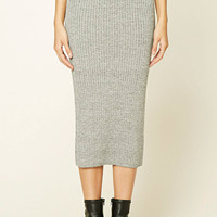 Contemporary Sweater Midi Skirt