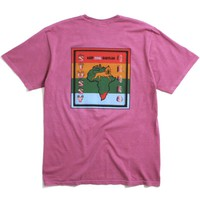 Keep Cool Babylon Pigment Dyed T-Shirt Orchid