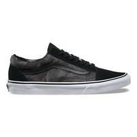 Chambray Leaves Old Skool | Shop Classic Shoes at Vans