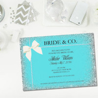PRINTABLE Bride and Co. invitation/ Bride and Co shower/ bridal shower invitation/ printable bridal shower/ pearl invitation - Edit Listing - Etsy