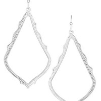 Sophee Drop Earrings in Silver - Kendra Scott Jewelry