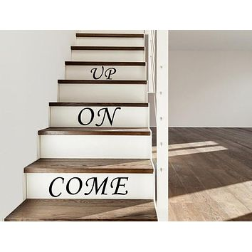 House Stair Decals Stair Riser Decals