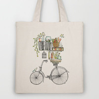 Pleasant Balance Tote Bag by Florever | Society6
