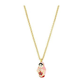 Kate Spade New York Ooh La La Dollface Mini Pendant Necklace
