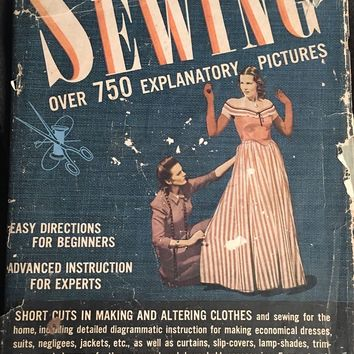 Early 1940's - Acclaim The Complete Book of Sewing