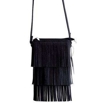 Fringed Crossbody Women Bag