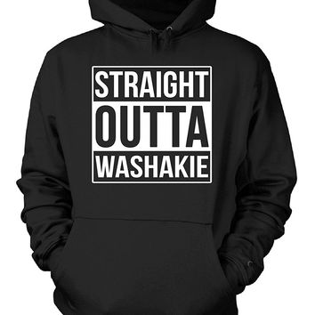 Straight Outta Washakie County. Cool Gift - Hoodie