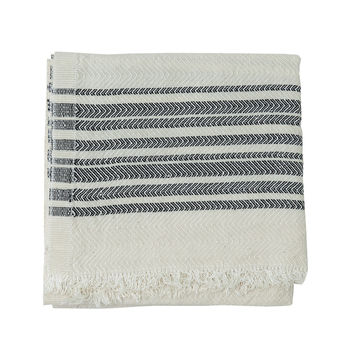 Samuji Tea towel multi stripe