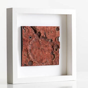 Mars, Space, NASA, 3D print, Wall Decor, Interplanetary, Space Print, Future, Wall Art, Home, Office, Interior Design