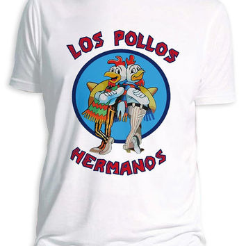 Los Pollos Hermanos Unisex Breaking Bad T-Shirt