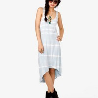 Tie-Dye High-Low Dress | FOREVER 21 - 2041908629